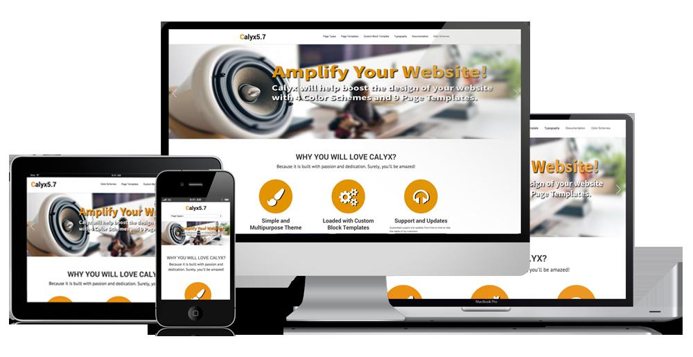 Calyx 5.7 Responsive Design